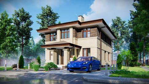 Дом в стиле прерий