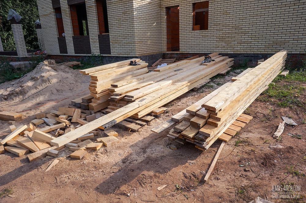 Строительство дома  в Высокогорском районе