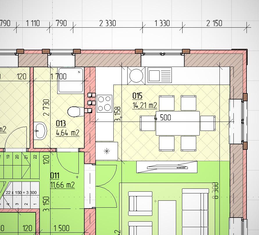Проект планнировки дома на 150 кв.м