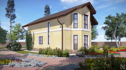Проект бюджетного дома 3