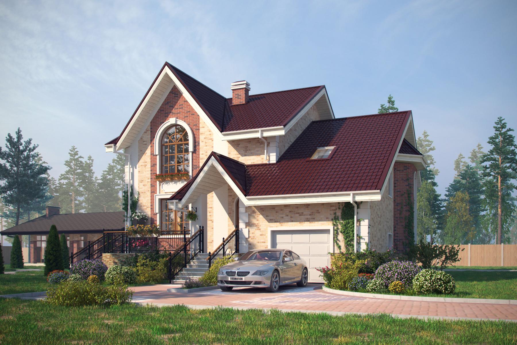 Проект дома в классике