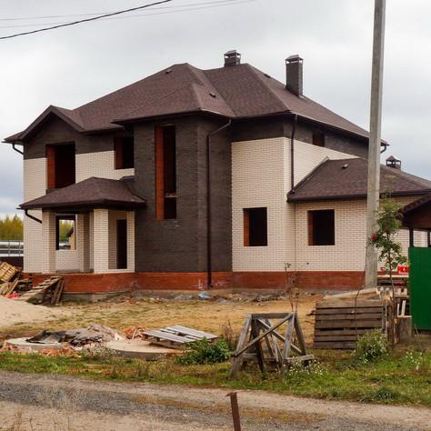 Реализация загородного двухэтажного дом с баней на 230 кв.м в с. Столбище, РТ