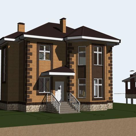 Проектируем сейчас! Небольшой загородный дом