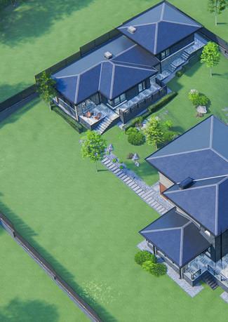 Гостевой дом в стиле прерий