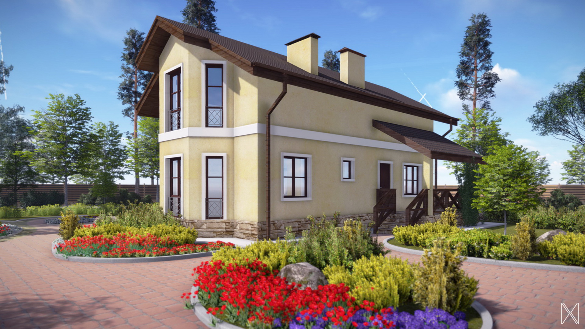 Проект бюджетного дома 1