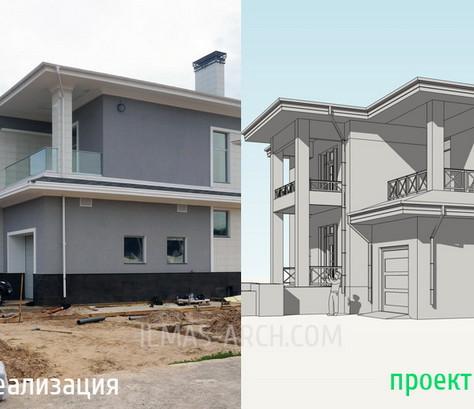 Дом в Вороновке