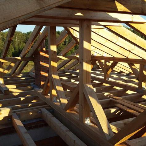 Строим дом в стиле Райта. Часть 3