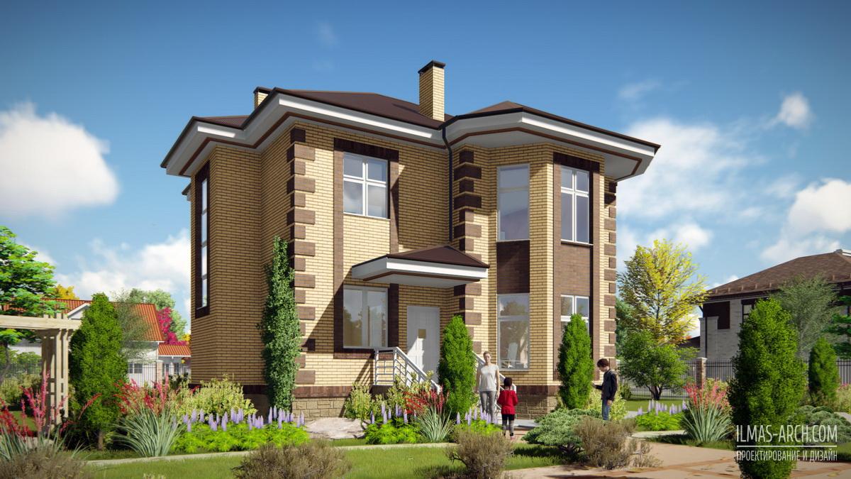 Проектирование дома 150 кв Казань