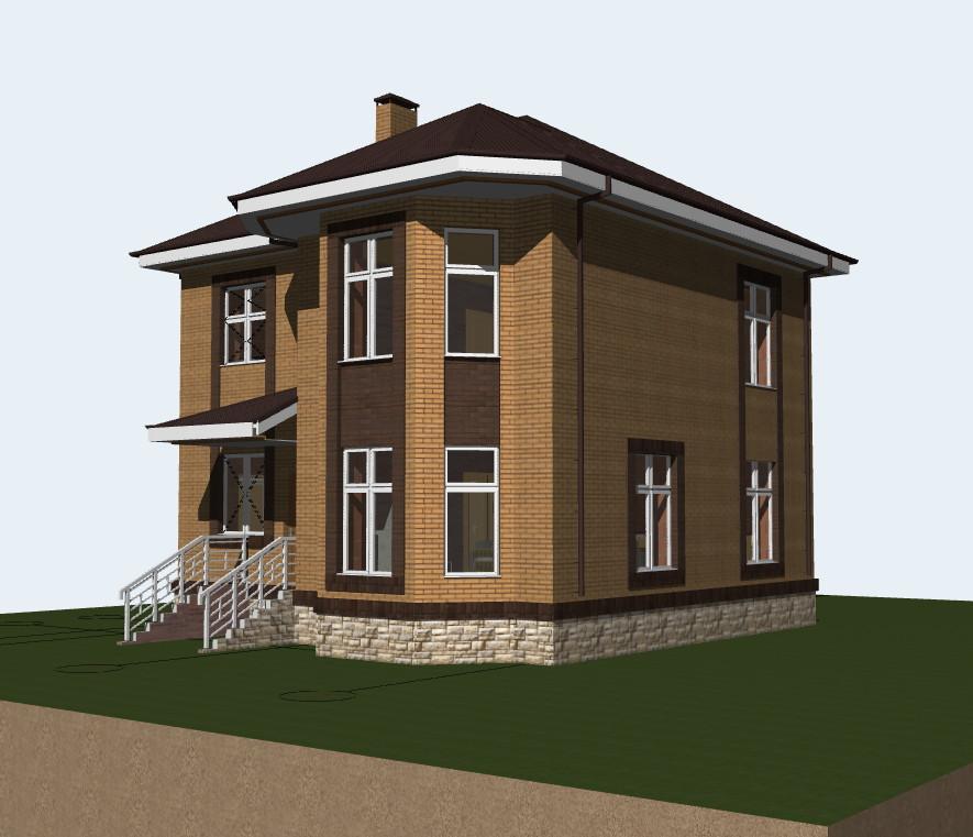 Проект дома на 150 кв