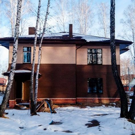 Дом в стиле Райта в г.Тюмень