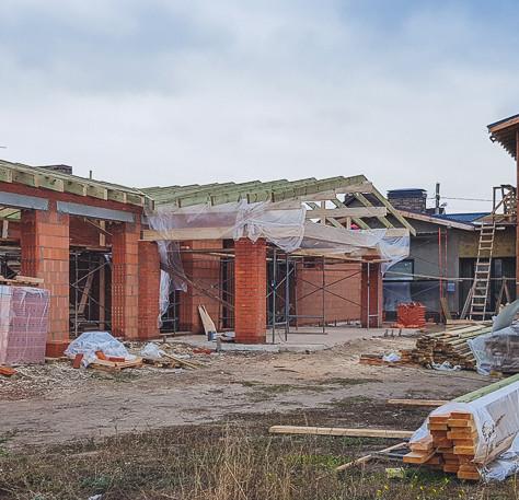 Строительство банного комплекса г. Казань