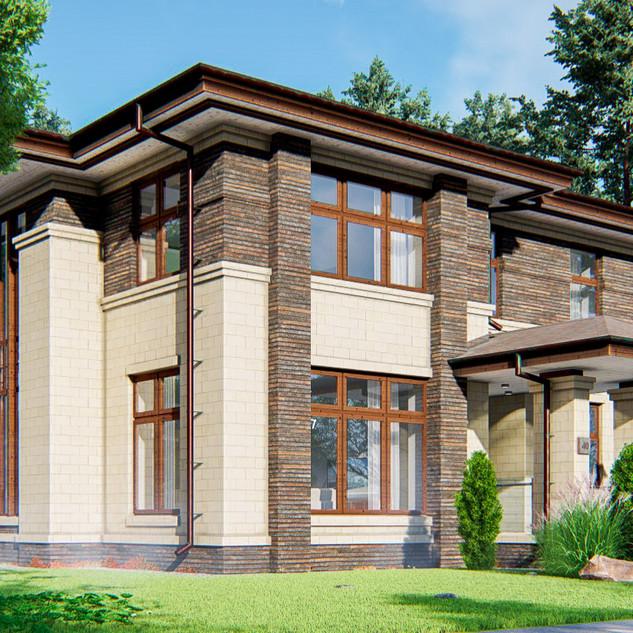 Загородный дом  на 207 кв.м