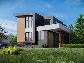 Реконструкция дом на берегу реки в Лаишевском районе, Татарстан