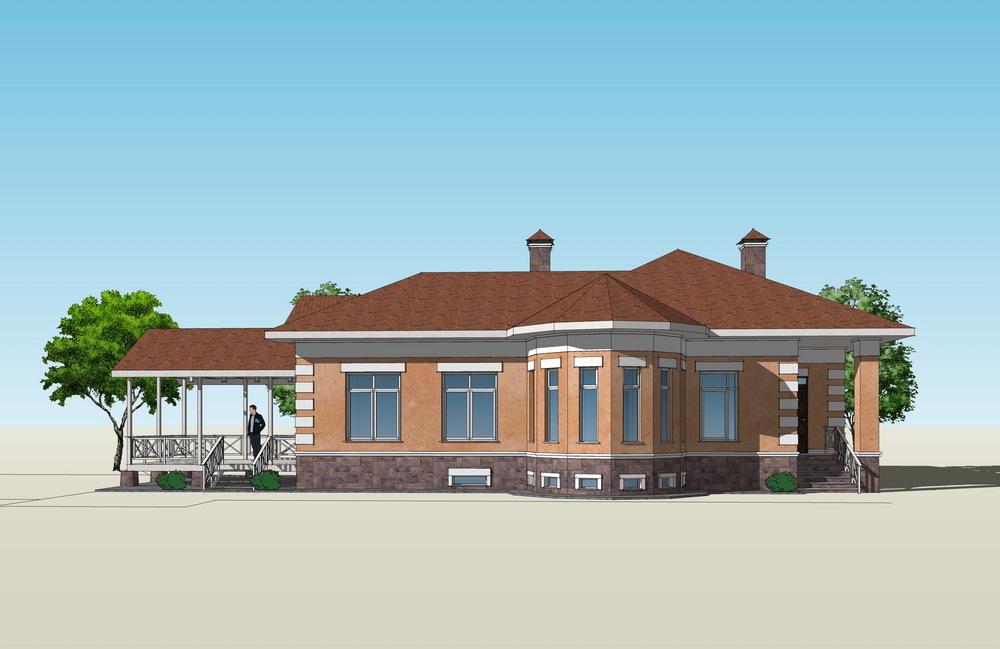 Проект дома Казань 3