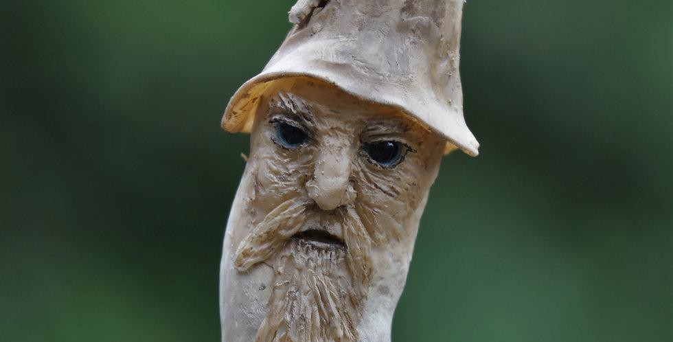 Wizard Talking Stick/Shaman Wand/Tree Spirit - SOLD