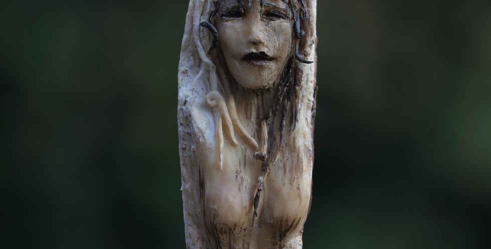 Dryad Priestess Talking Stick/Shaman Wand/Healing Tool -SOLD