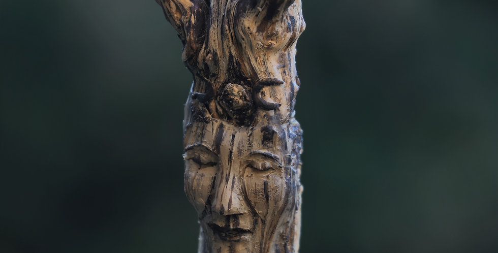 Tree Goddess Talking Stick/Shaman Wand/Altar Sculpture SOLD