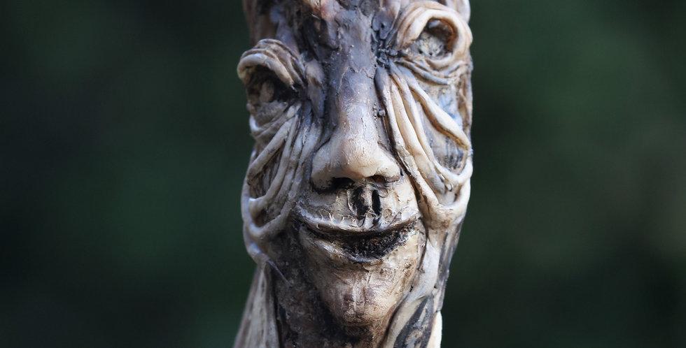 Tree Friend Talking Stick/Shaman Wand/Tree Spirit Guide