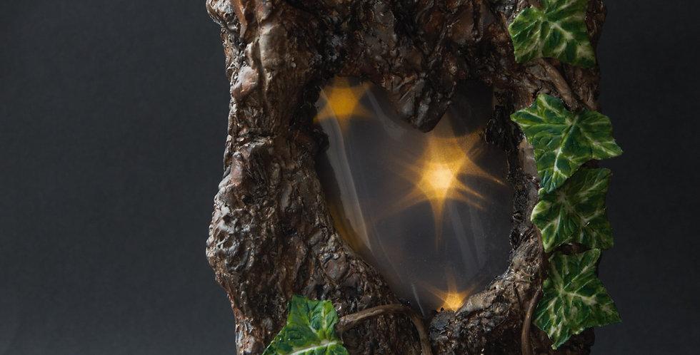 Inner Spirit - Oak Heart Valentine  Lamp