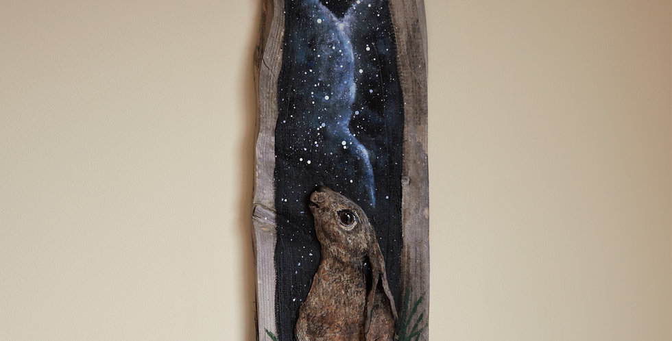 Moon Gazy Hare - SOLD