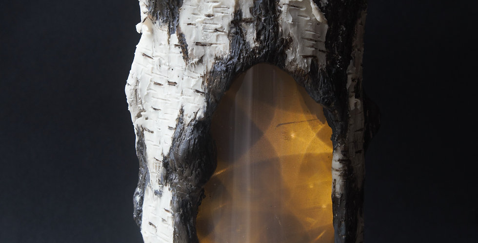 Inner Spirit - Silver Birch Lamp - SOLD