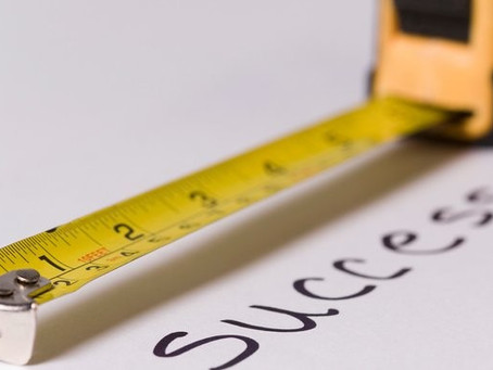 Happy New Year - How Will You Measure Success?