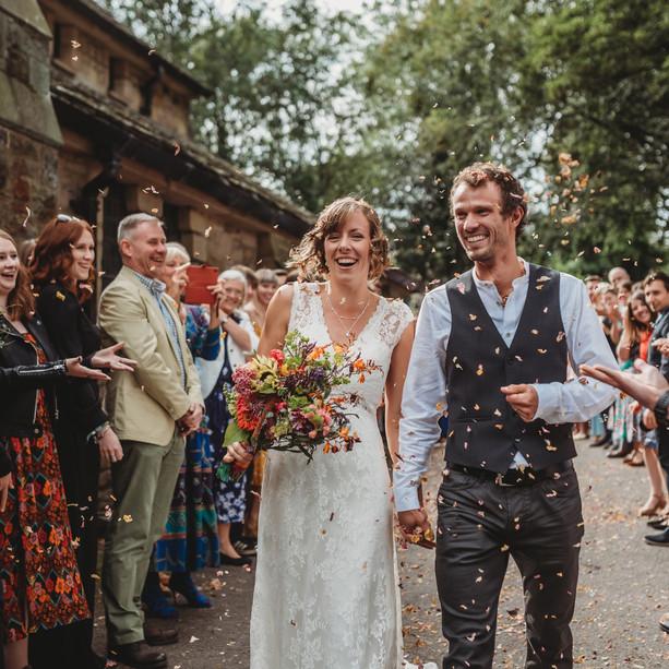 Sarah and Steve Wedding - Peak District