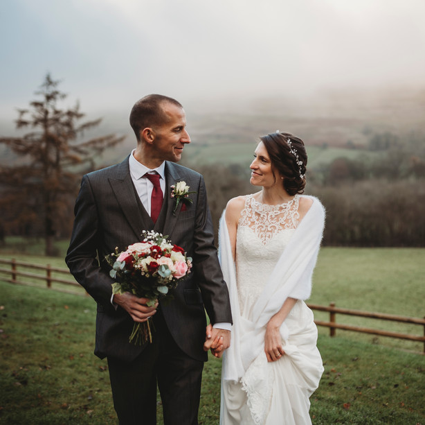 Kate and Neil - Losehill Hall Derbyshire