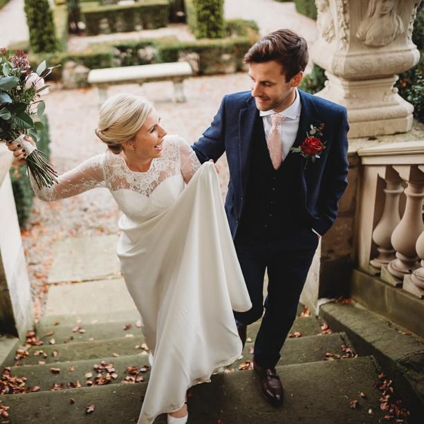Emma and Mitch - Thornbride Hall - Derbyshire