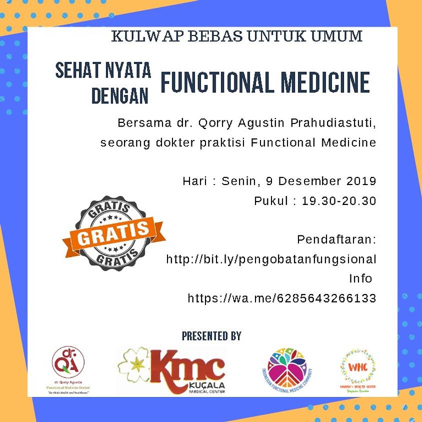 Sehat Nyata Dengan Functional Medicine