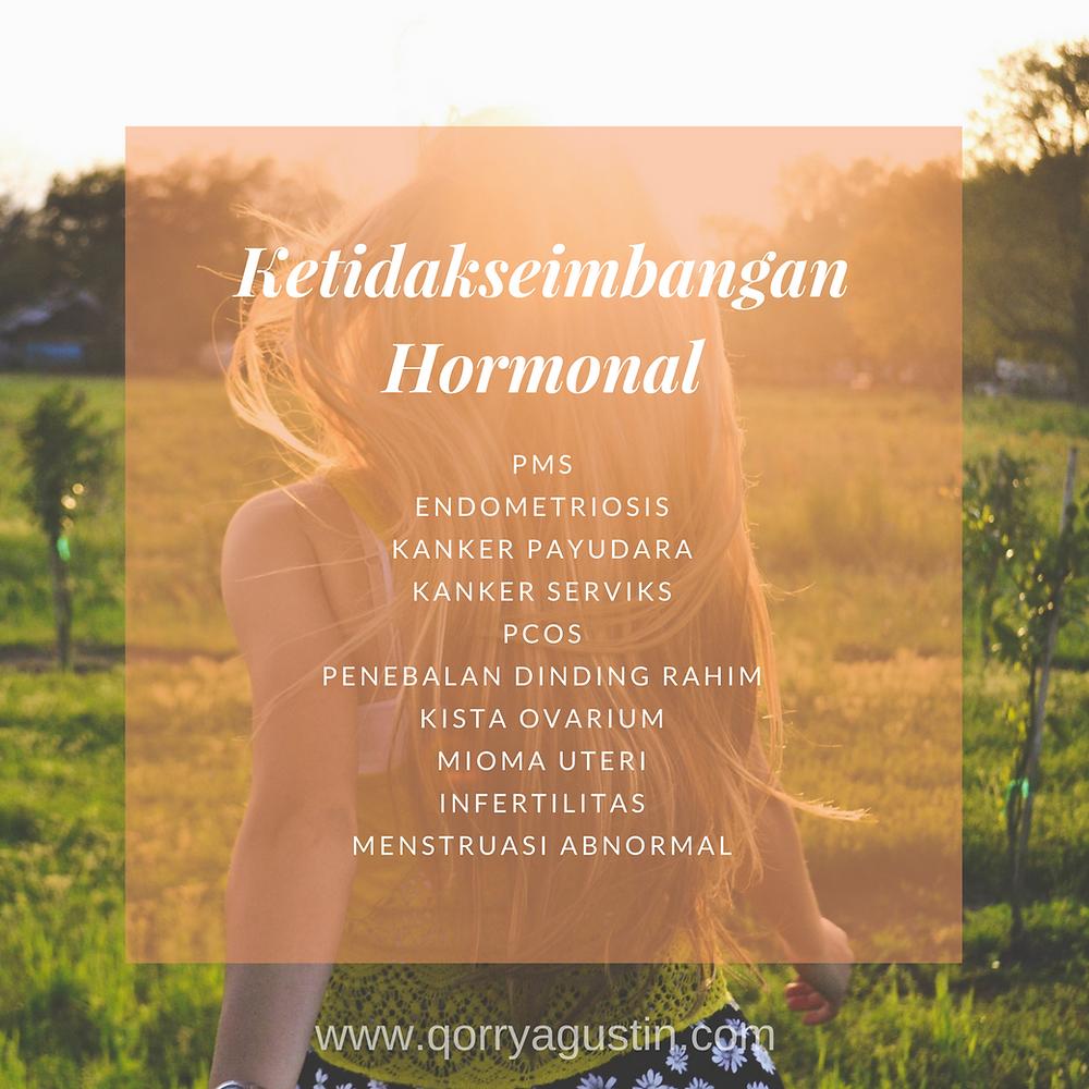 Ketidakseimbangan Hormonal | Kedokteran Fungsional (Functional Medicine) Indonesia | Qorry Agustin