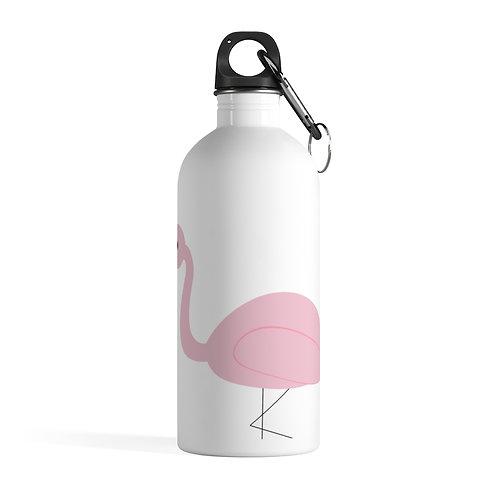 Flamingo Stainless Steel Water Bottle