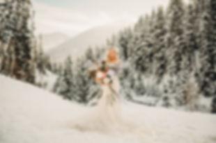 Gorgeous Snowy Bridals