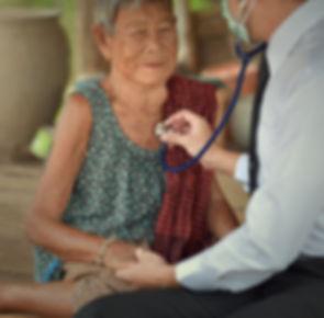 Parkinson disease patient, elderly senio