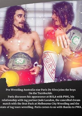 Pro Wrestling Australia star Paris De Si