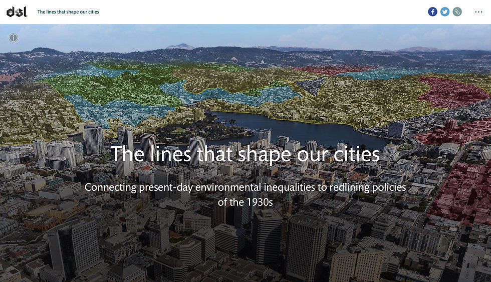 The lines that shape our cities