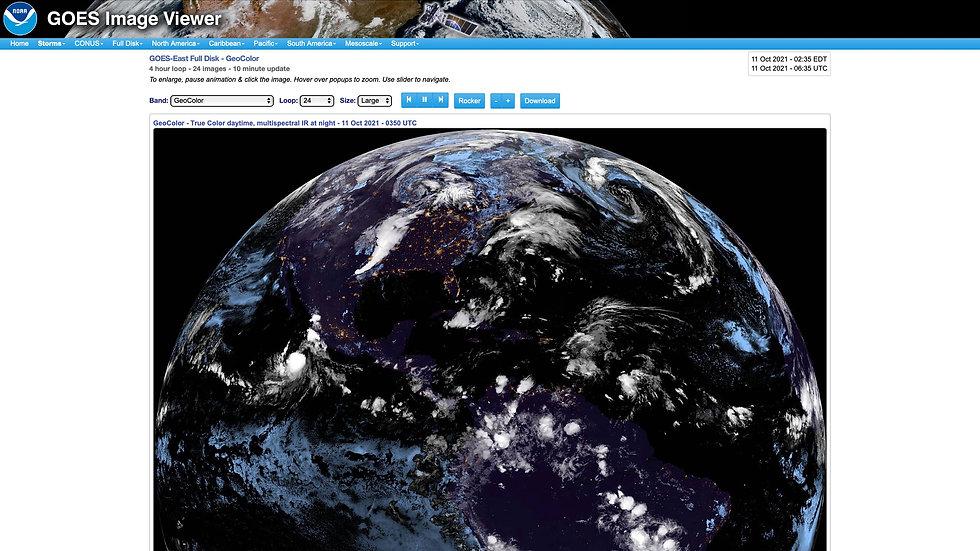 Latest Satellite Imagery