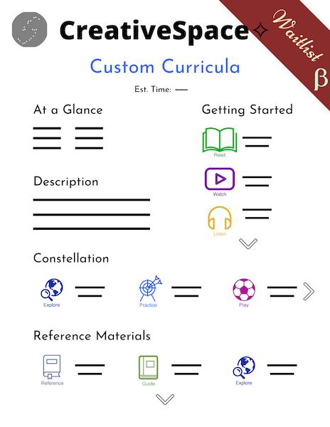 Custom Curricula