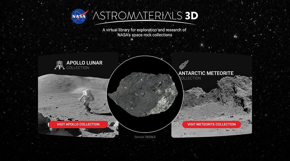 Astromaterials 3D