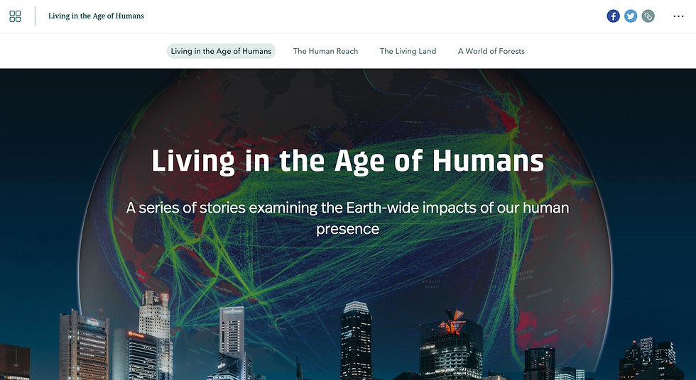 Living in the Age of Humans