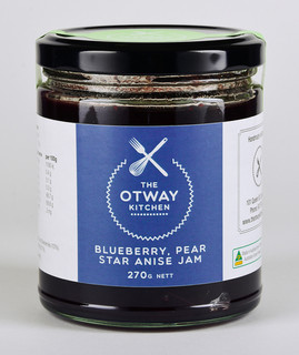 TOK Blueberry Pear & Star Anise Jam 270g