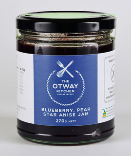 TOK Blueberry Pear & Star Anise Jam 270g