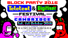 Teletext & Digitiser Festival Block Party 2016