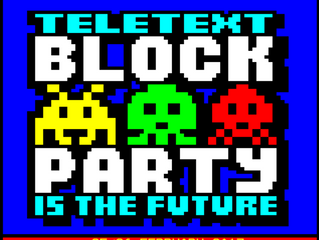 Block Party 2017 Teletext is the Future!