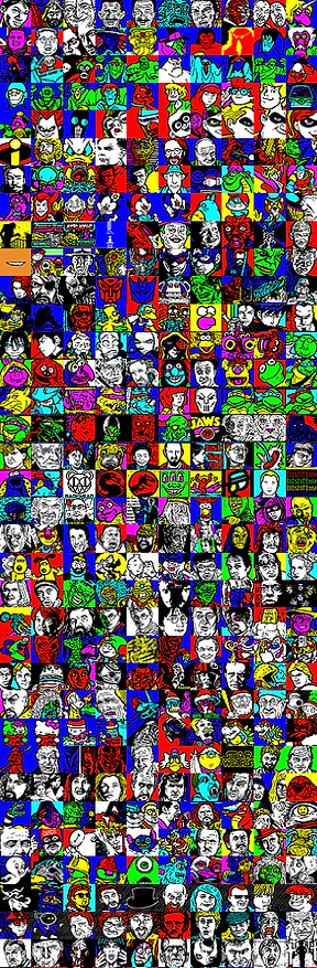 Just a collection of some of my Teletext art.