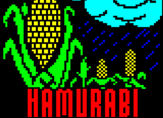 Hamurabi - real retro gaming
