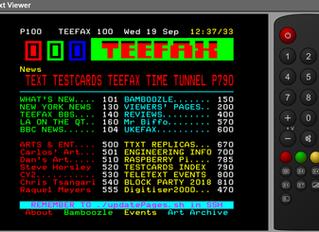 Live TEEFAX Teletext Viewer