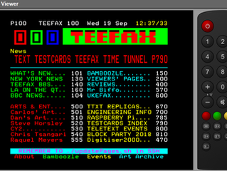 Live TEEFAX Teletext Viewer