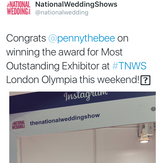 Penny the Bee @ The National Wedding Show, London