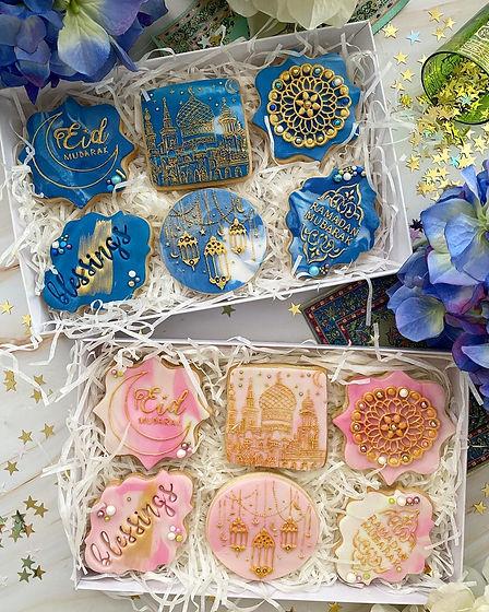 Eid biscuits